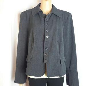 Lane Bryant Black Blazer Size 14 -z